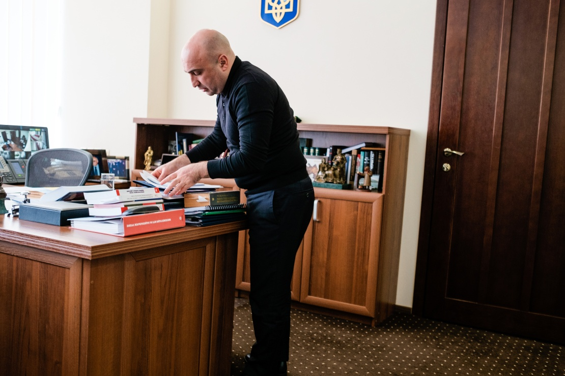 Заступник генпрокурора Гюндуз Мамедов.