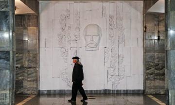 Вандал зіпсував виставку «Квантовий стрибок Шевченка»