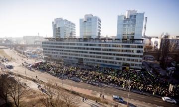 У Берліні відбувся найбільший за 7 років страйк громадського транспорту