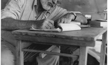 Журнал белетристики в США опублікував невидане оповідання Хемінгуея. Про що воно?