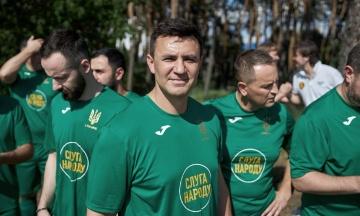 Нардеп Тищенко став головою осередку «Слуги народу» на Закарпатті