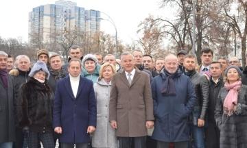 Гриценко представил руководство своего избирательного штаба. Кампанию в Киеве возглавит Томенко