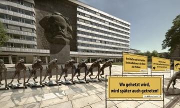 У німецькому Хемніці затримали шістьох екстремістів, підозрюваних у нападах на мігрантів