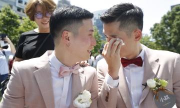 На Тайвані зареєстрували перші одностатеві шлюби в Азії