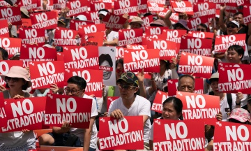Глава Гонконга анонсировала отзыв законопроекта об экстрадиции, который привел к протестам