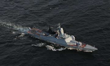 Військові кораблі Росії стежать за двома есмінцями США в Балтійському морі