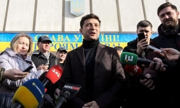 4 тижні до виборів: у президентському рейтингу лідирує Зеленський. Другу позицію поділяють Порошенко і Тимошенко