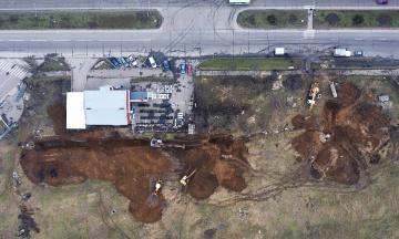 У Бердянську обвалилася ще одна ділянка каналізаційного колектора. Це вже третя аварія за місяць