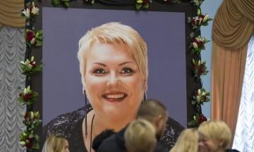 В Киеве прощаются с Мариной Поплавской. Похоронят актрису в Житомире