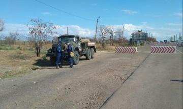 Викиди на «Кримському Титані»: в Херсонській області содою очистили понад 230 кілометрів доріг, а людям видали 20 тисяч марлевих масок