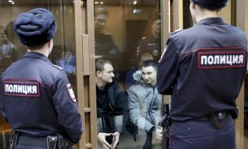 Суд у Москві залишив 16 українських військовополонених під вартою