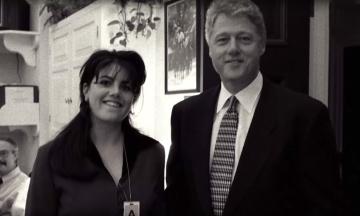 В США выходит сериал о романе Билла Клинтона и Моники Левински. В нем 20 серий