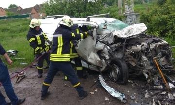 Бригада «Укрэнерго» разбилась в ДТП на Тернопольщине. Погибли четверо сотрудников