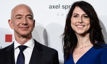 Дружина Безоса отримає чверть його частки в Amazon після розлучення. Їй відійде близько $35 мільярдів