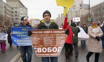 У Москві затримали активіста Котова, який допомагав українським військовополоненим морякам