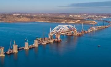 Кабмін затвердив санкції проти 19 російських компаній, які будують міст у Крим. Список передадуть РНБО