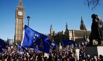 Парламент Великої Британії попередньо схвалив угоду про Brexit