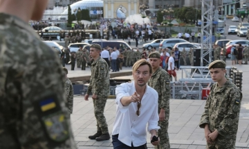 У Києві триває репетиція Ходи гідності до Дня Незалежності