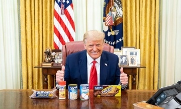 Трамп підтримав доньку Іванку і теж виклав фото з бобами Гойя
