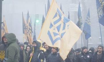 У «Нацкорпусі» спростували політичний зв'язок з полком «Азов», про який написали журналісти Bellingcat