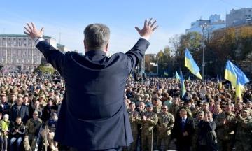 Порошенко вже витратив на передвиборчу кампанію 70 млн грн