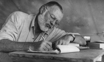 Два невиданих оповідання Гемінгвея опублікують у 2019 році