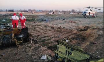Україна направляє до Ірану фахівців для ідентифікації загиблих у катастрофі Boeing 737-800