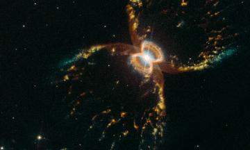 29 лет назад в космос запустили телескоп «Хаббл». К этой дате он прислал на Землю фото Крабовидной туманности, а мы показываем его лучшие снимки