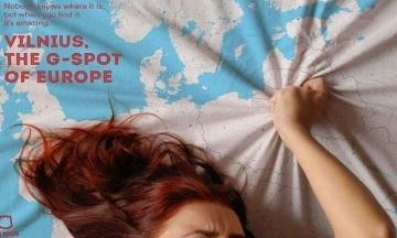 Вільнюс рекламує себе як «європейську точку G» за допомогою еротичних роликів