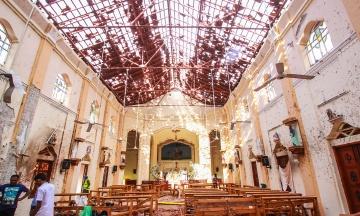 Теракти на Шрі-Ланці: вибухи могли влаштувати смертники. На це вказують фрагменти тіл