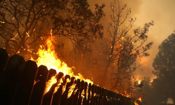 Вночі: Порошенко зустрівся з Трампом, у Каліфорнії зросла кількість жертв лісових пожеж, відомі попередні результати фейкових «виборів» на Донбасі
