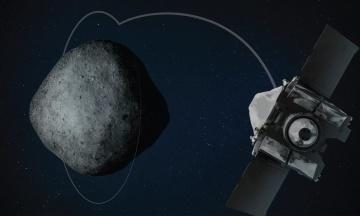 NASA вивели на орбіту астероїда космічний зонд. Він візьме зразки ґрунту і повернеться до 2023 року