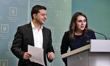 В ОП подтвердили увольнение Мендель с должности пресс-секретаря Зеленского. В дальнейшем она будет работать с иностранными СМИ