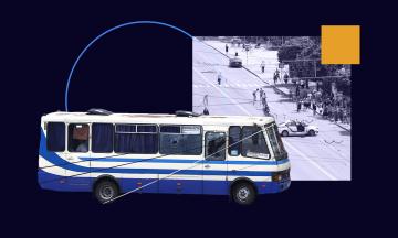 Захват автобуса в центре Луцка: террориста задержали, заложники освобождены. Хроника событий