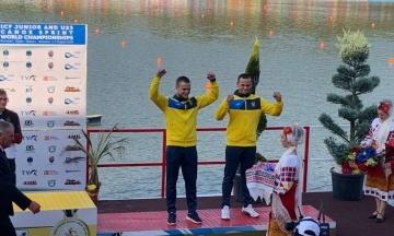 Украинские гребцы взяли два серебра на молодежном Чемпионате мира