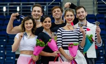 Фігуристи з України вибороли бронзу на змаганнях у Мінську