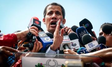Гуайдо очолить загальнонаціональний марш на столицю Венесуели