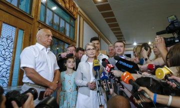 Тимошенко заявила, що її партія готова увійти до коаліції зі «Слугою народу» та партією «Голос»