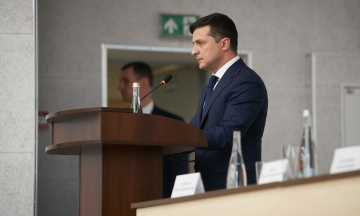 Пресконференція президента Володимира Зеленського. Онлайн-відеотрансляція
