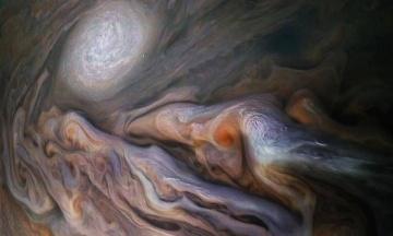 Станція NASA зробила знімок атмосфери Юпітера. Її порівняли з кавою