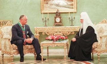 Додон: Молдавська церква завжди буде частиною Російської