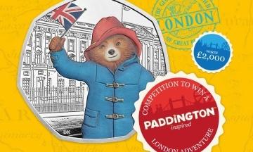 У Британії випустили монети до 60-річчя ведмедика Паддінгтона