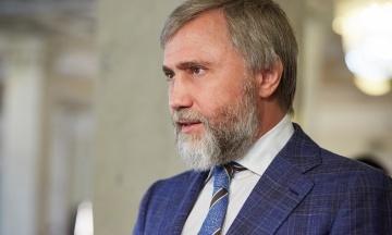 Нардеп Новинський заперечує свою причетність до каналу «НАШ». Слова Добкіна називає «помилкою»