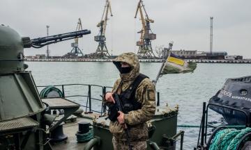 Усі кораблі українських прикордонників приведені в повну бойову готовність