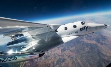 Американська Virgin Galactic запустила у пробний політ туристичний модуль. Він піднявся на 82 км над Землею