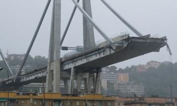 У Генуї обвалився автомобільний міст. Більше 30 загиблих, десятки поранених. Всі подробиці (оновлено)