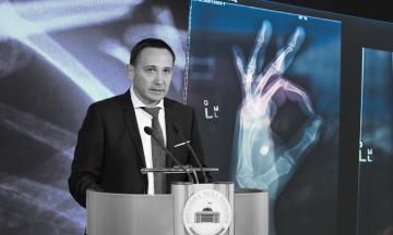 Конкурс на главу Национальной службы здоровья выиграл Константин Яринич. «Бабель» рассказывает, что известно о человеке, который (вероятно) будет распоряжаться 86 миллиардами гривен на медицину