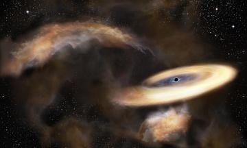 Японські астрономи знайшли в Чумацькому шляху приховану чорну діру. Вона розташована за 25 тис. світлових років від Землі