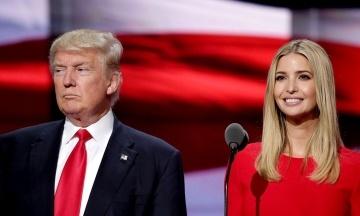 На дитину Трампа теж є компромат. Американські антикорупціонери стверджують, що дочка президента збагачувалася завдяки своєму статусу