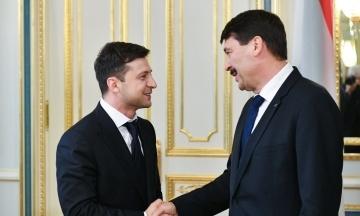 Президент Угорщини: Зеленський показав відкритість і добрі наміри в обговоренні суперечливих питань
